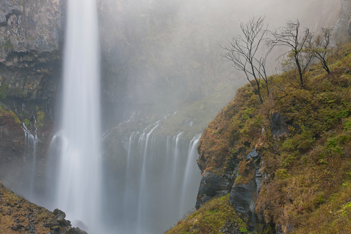 Nikko City「Kegon Falls at Nikko National Park in Nikko, Japan」:スマホ壁紙(0)