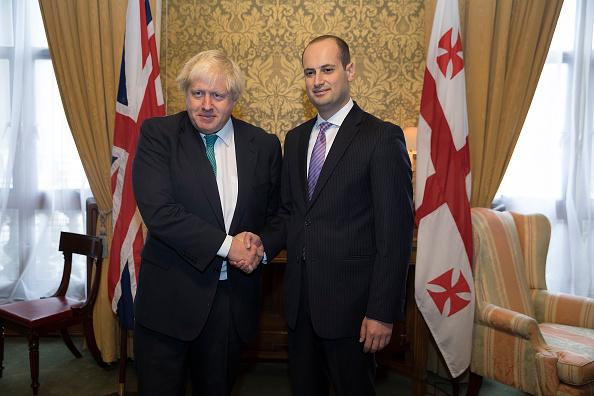 政治と行政「Boris Johnson Greets Georgian Counterpart In London」:写真・画像(12)[壁紙.com]