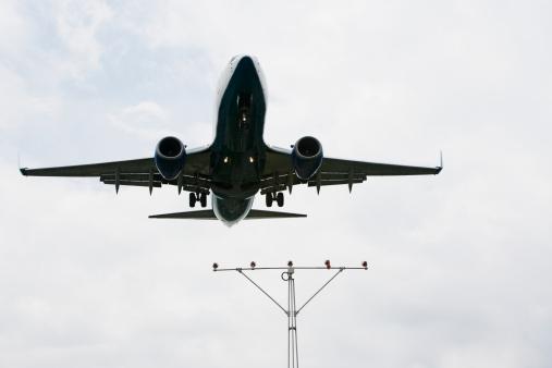Passenger「Low angle view of airplane」:スマホ壁紙(17)