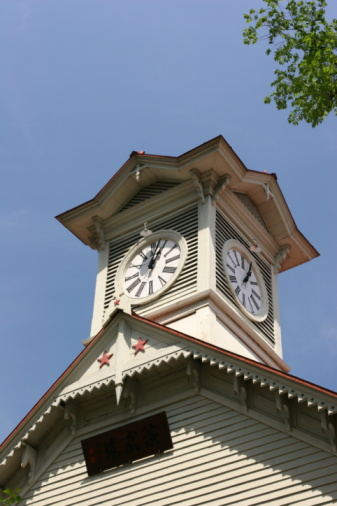 時計台「Low Angle View of Clock Tower」:スマホ壁紙(10)