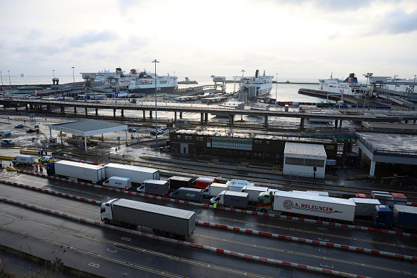 Passenger Craft「Travel To France Resumes As Lorry Drivers Receive Covid-19 Tests」:写真・画像(11)[壁紙.com]