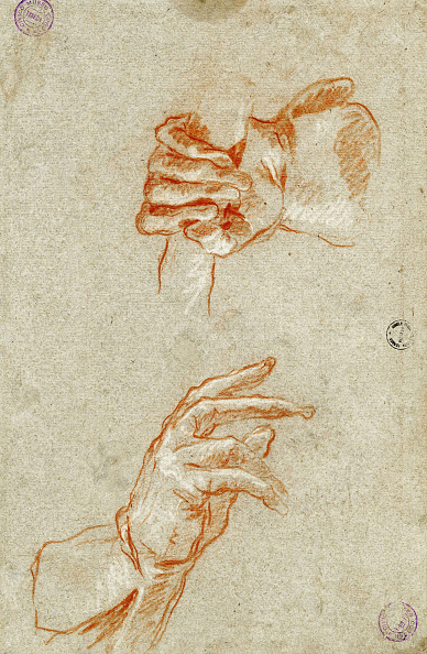 Painted Image「Study Of Hands Creator: Tiepolo」:写真・画像(9)[壁紙.com]