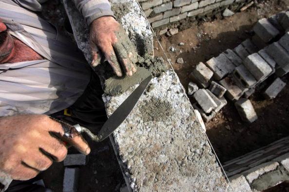 Cement「Kurds Build Homes In Kirkuk」:写真・画像(14)[壁紙.com]