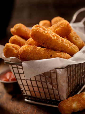 Stuffed「Basket of Mozzarella Cheese Sticks」:スマホ壁紙(16)