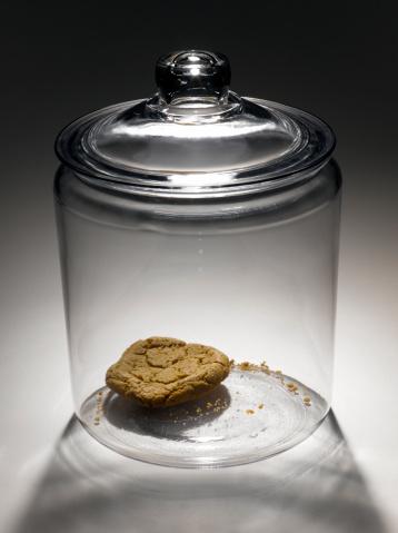 Cookie「Single cookie in cookie jar」:スマホ壁紙(19)