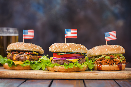 Fourth of July「Burgers for 4th of July」:スマホ壁紙(9)