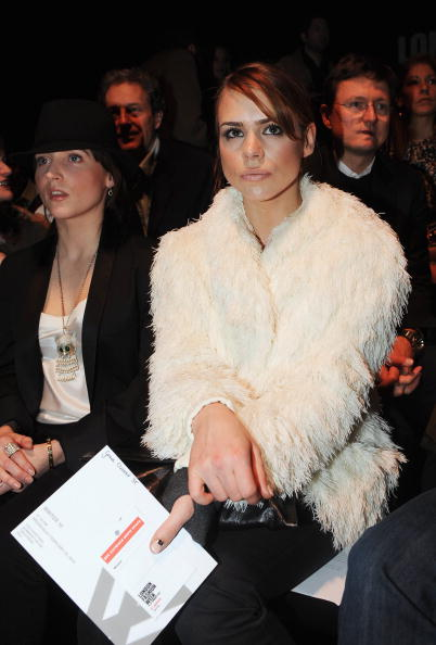 Cream Colored「Celebrity Front Row Day 6 - LFW Autumn/Winter 2010」:写真・画像(10)[壁紙.com]