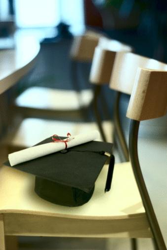 縁なし帽子「Cap and diploma」:スマホ壁紙(14)