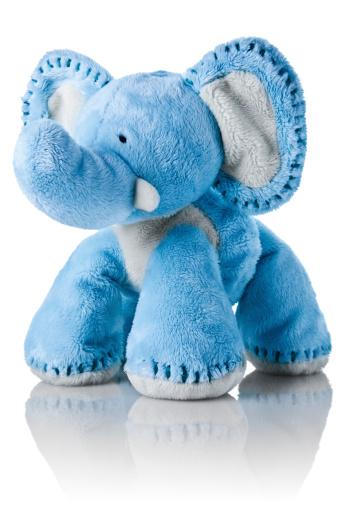 Stuffed「Blue elephant toy」:スマホ壁紙(12)