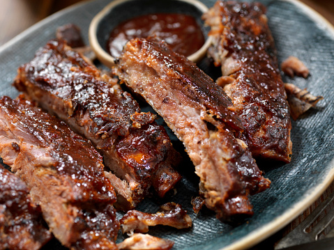 Rib - Food「Slow Roasted St. Louis Style Baby Back Pork Ribs」:スマホ壁紙(16)