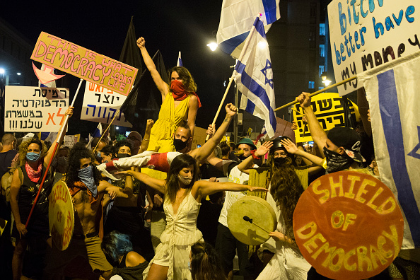 Israel「Anti-Netanyahu Protests Continue, Fueled By Coronavirus, Corruption And Sundry Other Causes」:写真・画像(9)[壁紙.com]
