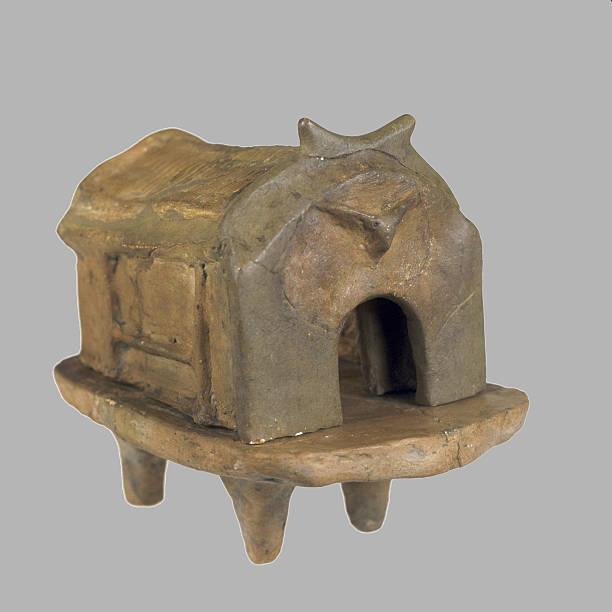 Temple Model, 3800-3600 BC. Artist: Prehistoric Russian Culture:ニュース(壁紙.com)