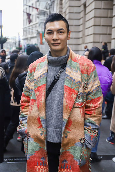 Achim Aaron Harding「Street Style - New York Fashion Week February 2019 - Day 2」:写真・画像(7)[壁紙.com]