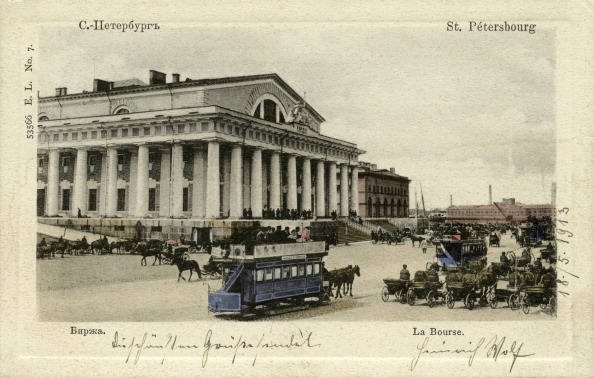 City Life「Stock Exchange, St Petersburg」:写真・画像(13)[壁紙.com]