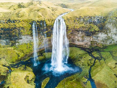 Waterfall「Seljalandsfoss - Big Waterfall in Iceland」:スマホ壁紙(19)