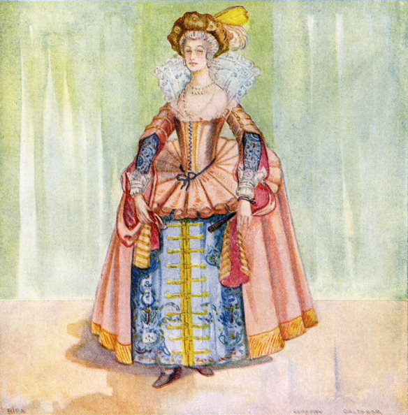 Cultures「Woman 's costume in reign of James I (1603-1625)」:写真・画像(17)[壁紙.com]