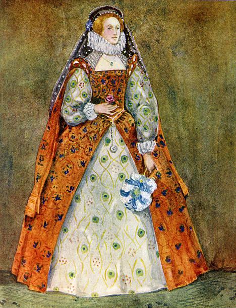 Woman 's costume in reign of Elizabeth I (1558-1603):ニュース(壁紙.com)