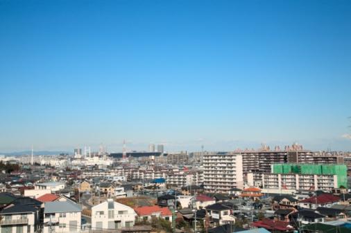 Tokyo - Japan「Rows of houses, Inagi, Japan.」:スマホ壁紙(9)