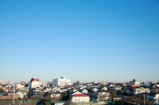 Tokyo - Japan「Rows of houses, Denenchofu, Tokyo, Japan.」:スマホ壁紙(14)