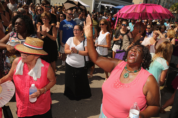 Methodist「Charleston In Mourning After 9 Killed In Church Massacre」:写真・画像(3)[壁紙.com]