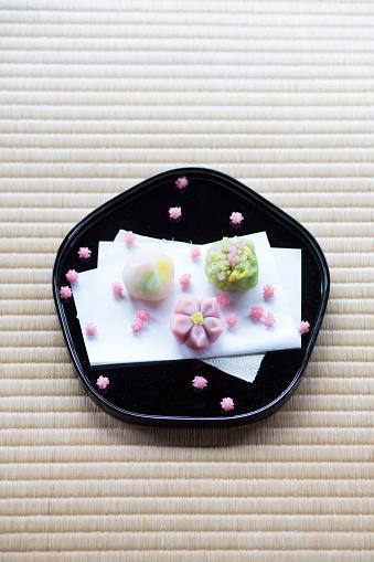 和食「Wagashi (Japanese sweets)」:スマホ壁紙(6)