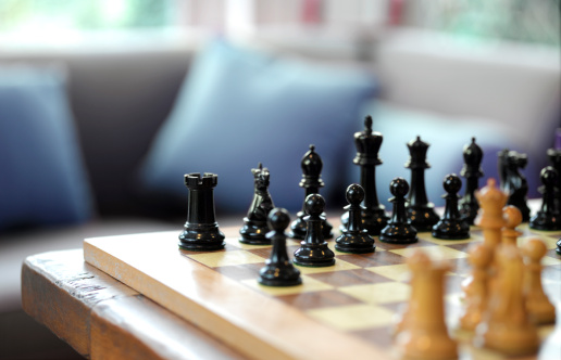 Rivalry「Chess set ready for play」:スマホ壁紙(1)