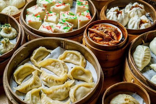 Dumpling「Steamed asian dumplings」:スマホ壁紙(7)
