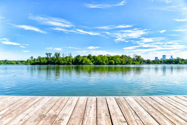 Dock on Lake in the City of Lakes - Minneapolis:スマホ壁紙(壁紙.com)