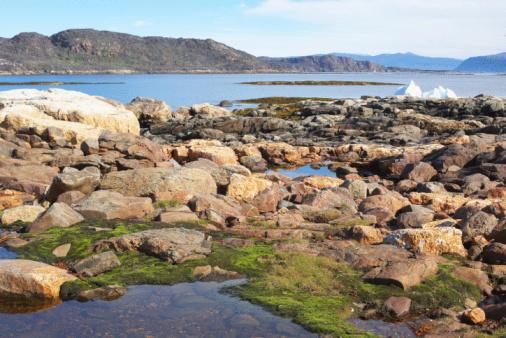 Eco Tourism「Low tide in Arctic bay」:スマホ壁紙(4)