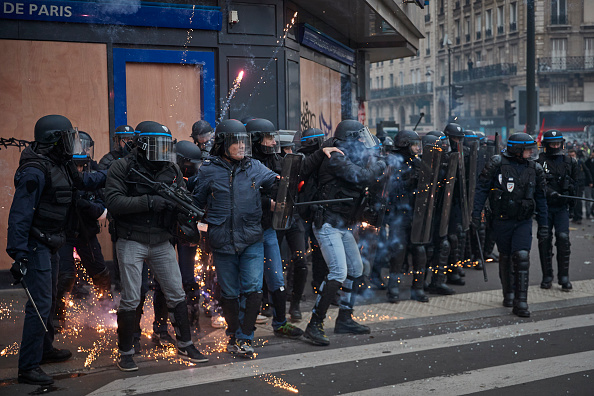 Paris - France「National Strike Shuts Down France's Transport Network」:写真・画像(12)[壁紙.com]