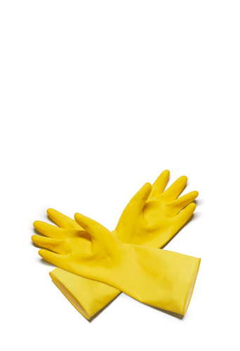 Protective Glove「Yellow washing up gloves」:スマホ壁紙(6)