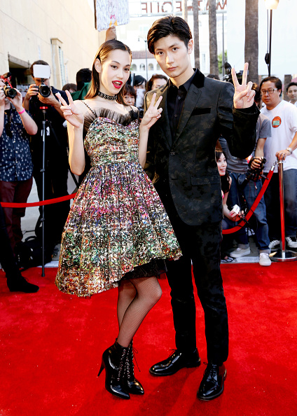"Kiko Mizuhara「""ATTACK ON TITAN"" World Premiere」:写真・画像(14)[壁紙.com]"