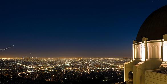 Boulevard「Griffith Observatory cityscape, LA」:スマホ壁紙(17)