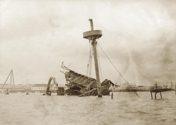 Spencer Arnold Collection「Wreck Of The Maine」:写真・画像(3)[壁紙.com]