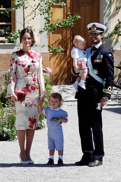 Prince - Royal Person「Christening  Of Princess Adrienne Of Sweden」:写真・画像(7)[壁紙.com]