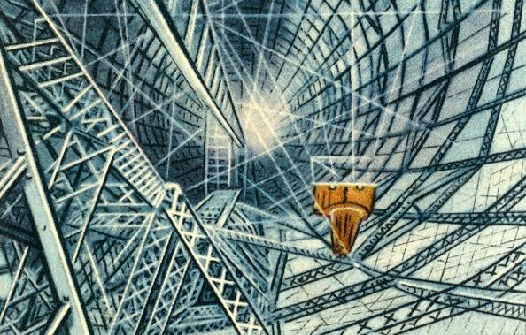 Cigarette Card「Framework Of A Zeppelin」:写真・画像(17)[壁紙.com]