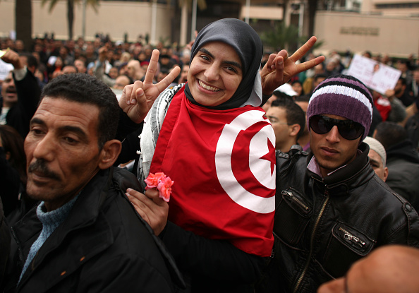 Tunisia「Demonstrations Continue In Tunisia As Calls Come For Dissolution Of Ruling Party」:写真・画像(17)[壁紙.com]