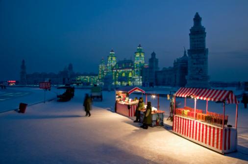 snow Festival「CHINA-Heilongjiang-HAERBIN (Harbin): Ice and Snow 」:スマホ壁紙(3)