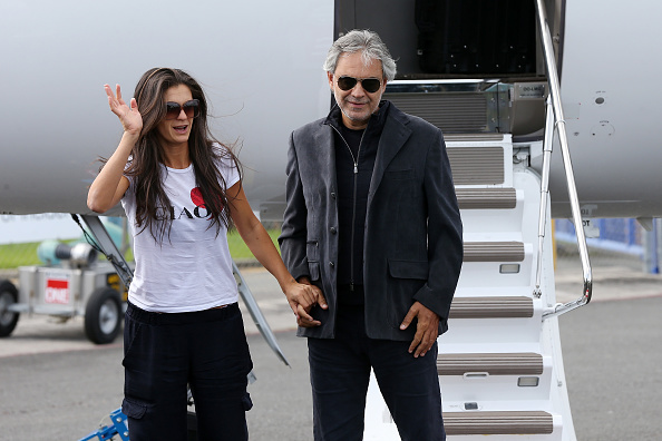 女性歌手「Andrea Bocelli Arrives In New Zealand」:写真・画像(9)[壁紙.com]