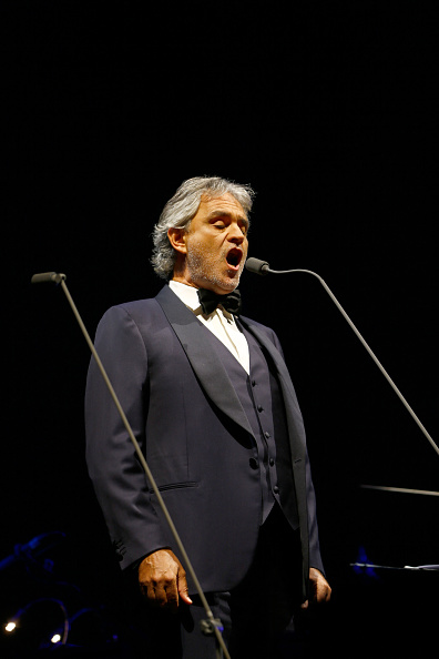 Spark Arena「Andrea Bocelli Performs In Auckland」:写真・画像(9)[壁紙.com]