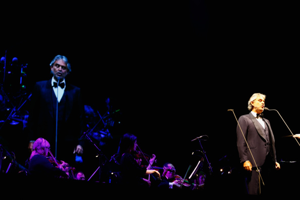 Spark Arena「Andrea Bocelli Performs In Auckland」:写真・画像(10)[壁紙.com]