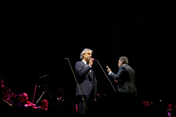 Spark Arena「Andrea Bocelli Performs In Auckland」:写真・画像(8)[壁紙.com]