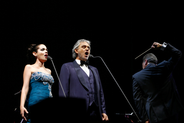 Spark Arena「Andrea Bocelli Performs In Auckland」:写真・画像(7)[壁紙.com]