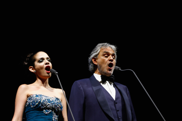 Spark Arena「Andrea Bocelli Performs In Auckland」:写真・画像(6)[壁紙.com]