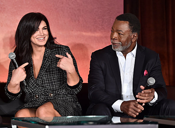 Gina Carano「Press Conference for the Disney+ Exclusive Series The Mandalorian」:写真・画像(3)[壁紙.com]