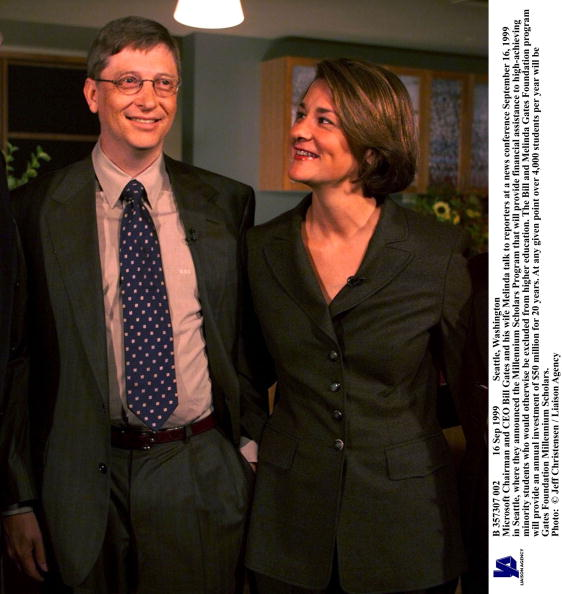 Learning「Microsoft Chairman And CEO Bill Gates And His Wife Meli」:写真・画像(12)[壁紙.com]
