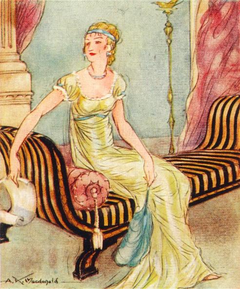 Yellow「Madame Recamier, (1777-1849), 1937. Artist: Alexander K MacDonald」:写真・画像(13)[壁紙.com]