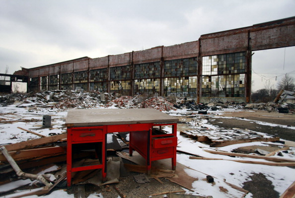 Detroit - Michigan「Detroit's Iconic Abandoned Packard Plant Purchased By Developer From Peru」:写真・画像(16)[壁紙.com]