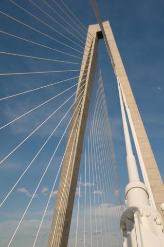 Charleston - South Carolina「Cooper River Bridge, Charleston SC」:スマホ壁紙(18)