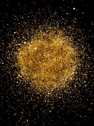 Glitter「Golden Glitter Explosion」:スマホ壁紙(4)